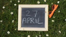 27ème d'April Kingsday Images libres de droits