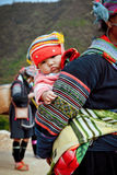 24ème de décembre 2012, village de Sapa, Vietnam Image libre de droits