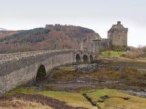 7ème de l'ÎLE de février 2017 DE SKYE, ECOSSE - Eilan Donan Castle Image stock
