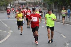 10ème demi marathon d'Istanbul Photos libres de droits