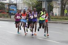 10ème demi marathon d'Istanbul Photo stock