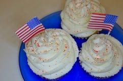 4ème des petits gâteaux de juillet Images stock