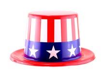 4ème du chapeau de célébration de juillet Image libre de droits