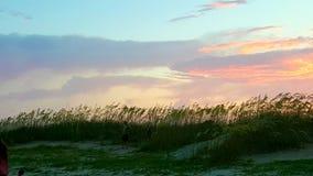 4ème du coucher du soleil de juillet Photographie stock