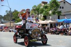 4ème du Huntington Beach CA Etats-Unis de défilé de juillet Photos stock