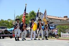 4ème du Huntington Beach CA Etats-Unis de défilé de juillet Image stock