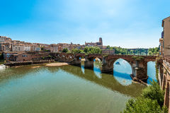 22ème du pont d'août 1944 à Albi, France Photo libre de droits