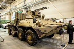 13ème exposition internationale des bras et de la sécurité 2016 d'armements Images stock