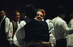 18ème festival de folklore serbe Photos stock