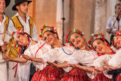 21ème festival international à Plovdiv, Bulgarie Images stock