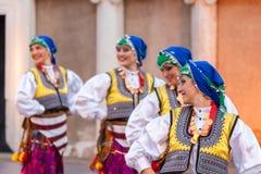 21ème festival international à Plovdiv, Bulgarie Image libre de droits