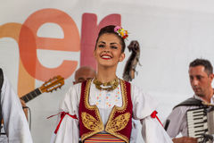 21ème festival international à Plovdiv, Bulgarie Photo stock