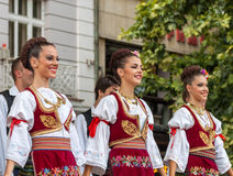 21ème festival international à Plovdiv, Bulgarie Image stock