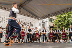 21ème festival international à Plovdiv, Bulgarie Photos stock