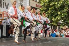 21ème festival international à Plovdiv, Bulgarie Photos stock