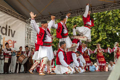 21ème festival international à Plovdiv, Bulgarie Photo stock
