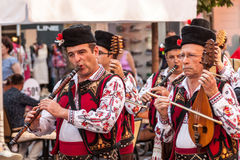 21ème festival international à Plovdiv, Bulgarie Photographie stock
