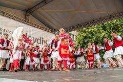 21ème festival international à Plovdiv, Bulgarie Images libres de droits