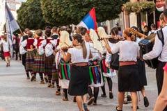 21ème festival international à Plovdiv, Bulgarie Photo libre de droits