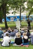 31ème festival international d'ULICA des théâtres de rue, Cracovie, PO photo libre de droits