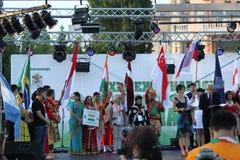 21ème festival international Vitosha 2017 de folklore Photographie stock libre de droits