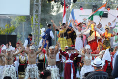 21ème festival international Vitosha 2017 de folklore Photo stock