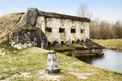 5ème fort de forteresse de Brest Images libres de droits