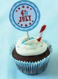 4ème gâteau juillet Photo stock