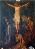 12ème Gares de la croix Images libres de droits
