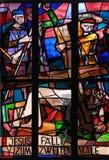 7ème Gares de la croix, automnes de Jésus la deuxième fois Photographie stock