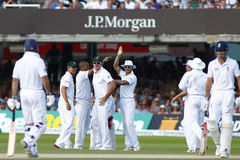 3ème jour 2012 de match d'essai de l'Angleterre v Afrique du Sud 4 Images libres de droits