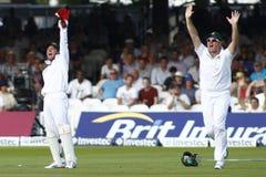 3ème jour 2012 de match d'essai de l'Angleterre v Afrique du Sud 4 Photographie stock