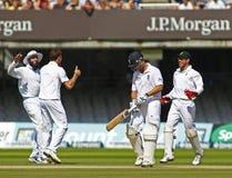 3ème jour 5 de match d'essai de l'Angleterre v Afrique du Sud Photographie stock libre de droits
