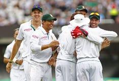 3ème jour 5 de match d'essai de l'Angleterre v Afrique du Sud Images stock