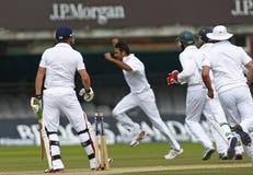 3ème jour 5 de match d'essai de l'Angleterre v Afrique du Sud Images libres de droits