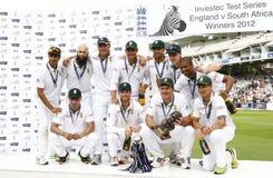3ème jour 5 de match d'essai de l'Angleterre v Afrique du Sud Image stock