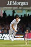 3ème jour 2012 de match d'essai de l'Angleterre v Afrique du Sud 1 Image stock