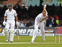 3ème jour 2012 de match d'essai de l'Angleterre v Afrique du Sud 1 Photo stock