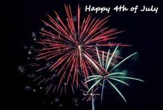 4ème juillet heureux Photo stock