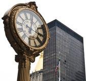 5ème L'horloge de l'avenue Images libres de droits
