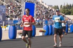 31ème marathon classique d'Athènes Photos libres de droits