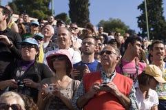 31ème marathon classique d'Athènes Images libres de droits