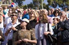31ème marathon classique d'Athènes Photos stock