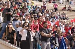 31ème marathon classique d'Athènes Photo stock