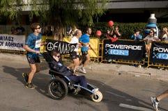 31ème marathon classique d'Athènes Photo libre de droits