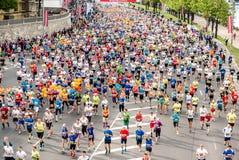 24ème marathon de Nordea Riga Photos libres de droits