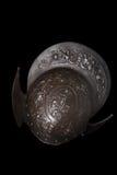 17ème morion de casque de siècle de bataille Photographie stock libre de droits