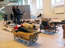 5ème Moscou Biennale d'art contemporain Photos libres de droits