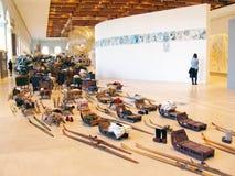5ème Moscou Biennale d'art contemporain Photographie stock