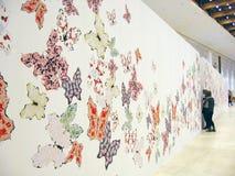 5ème Moscou Biennale d'art contemporain Image stock